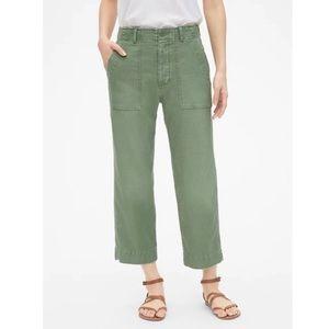 Gap | High Rise Straight Crop Pants